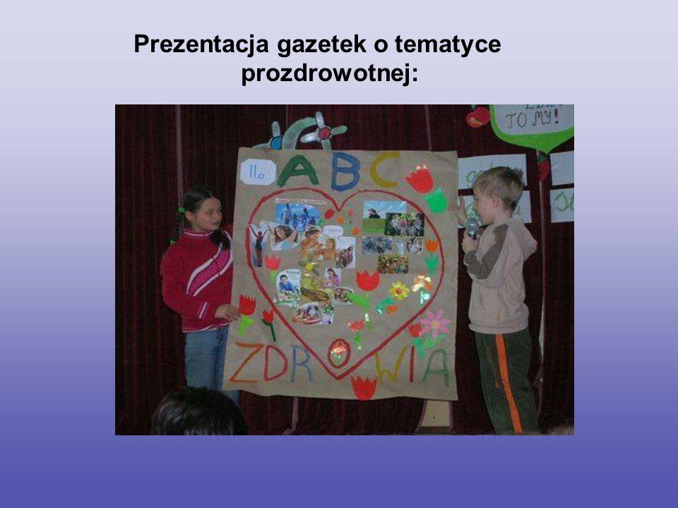 Realizacja ścieżek edukacyjnych-edukacja prozdrowotna i ekologiczna: program własny realizowany w klasach czwartych