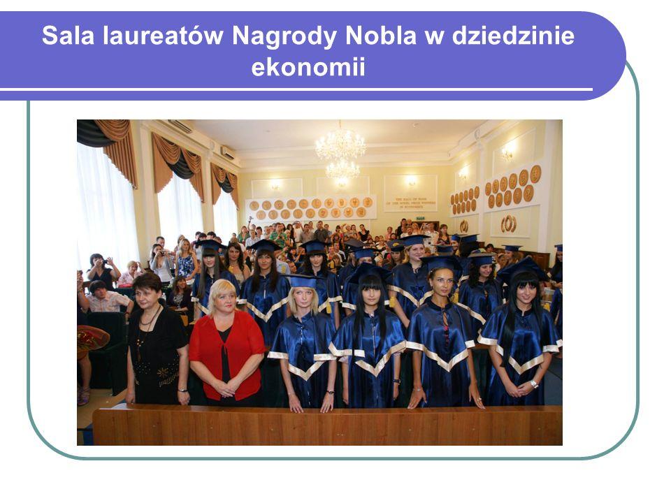 Sala laureatów Nagrody Nobla w dziedzinie ekonomii