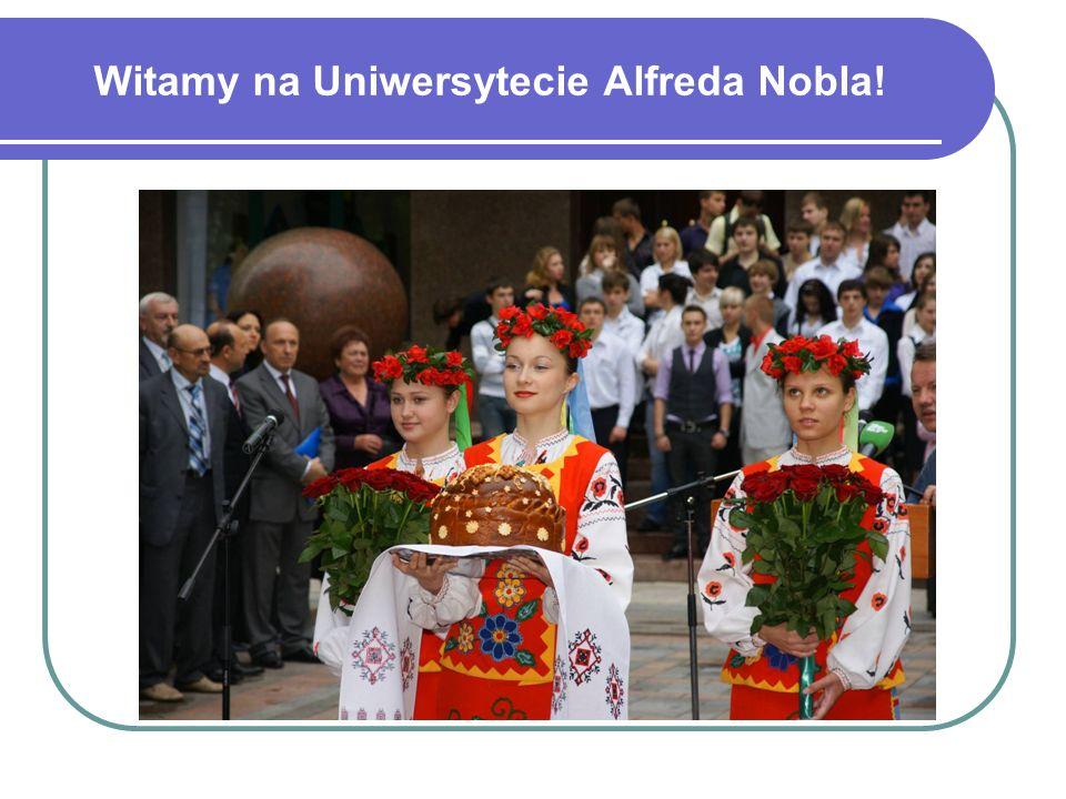 Witamy na Uniwersytecie Alfreda Nobla!