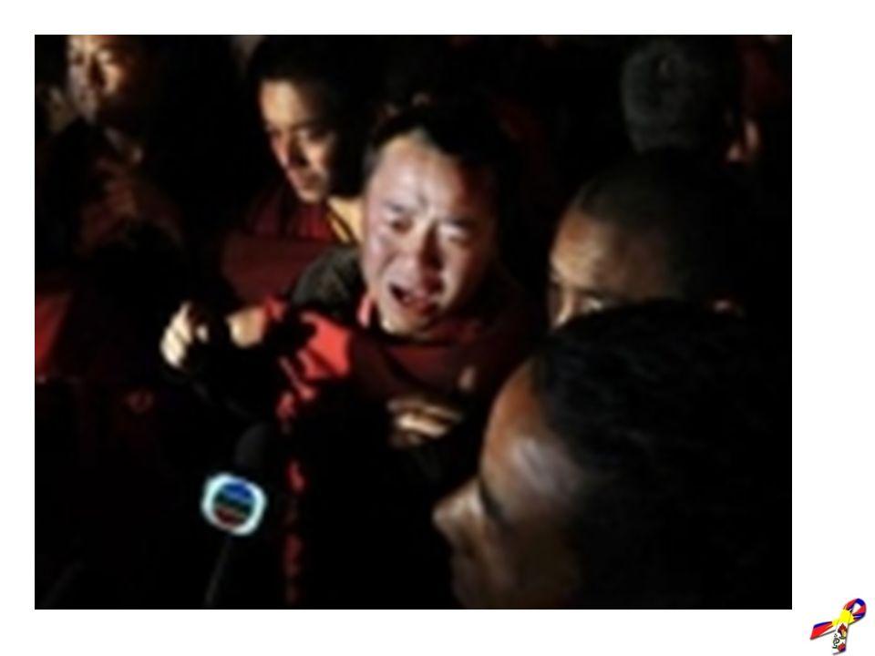 Powstanie 2008 Około 220 zabitych Tybetańczyków 4657 aresztowanych lub uwięzionych 990 zaginionych 371 skazanych