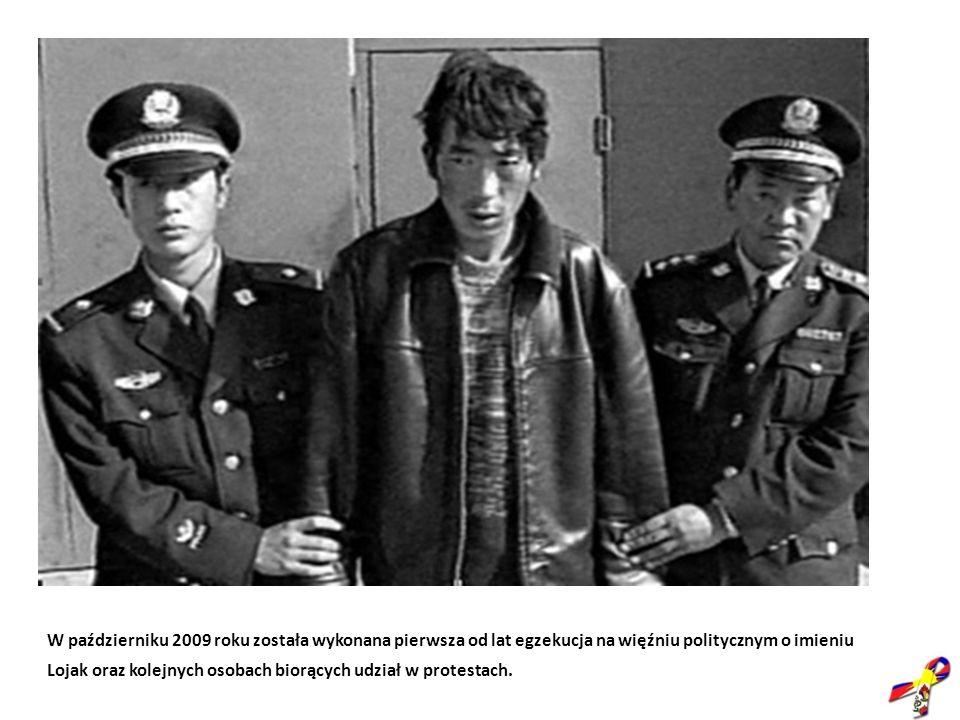 W październiku 2009 roku została wykonana pierwsza od lat egzekucja na więźniu politycznym o imieniu Lojak oraz kolejnych osobach biorących udział w p