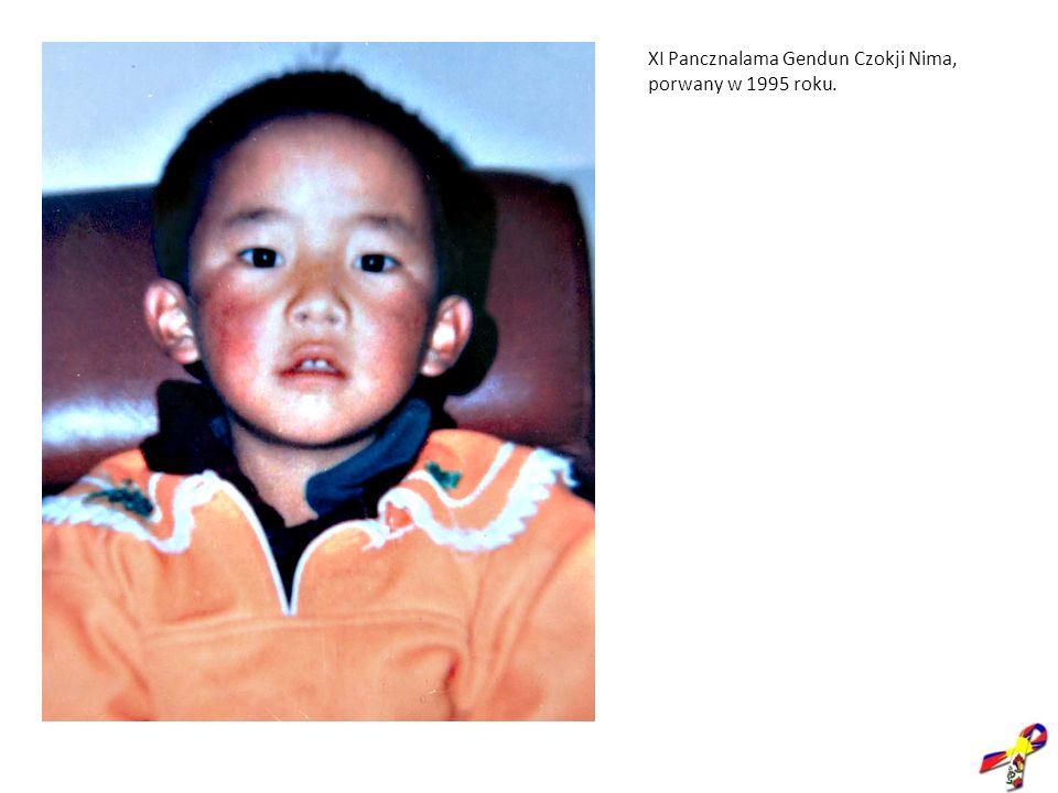 XI Pancznalama Gendun Czokji Nima, porwany w 1995 roku.