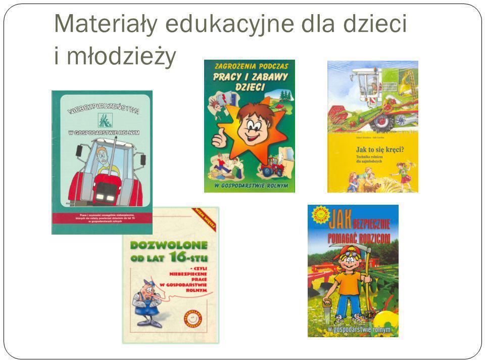 Materiały edukacyjne dla dzieci i młodzieży