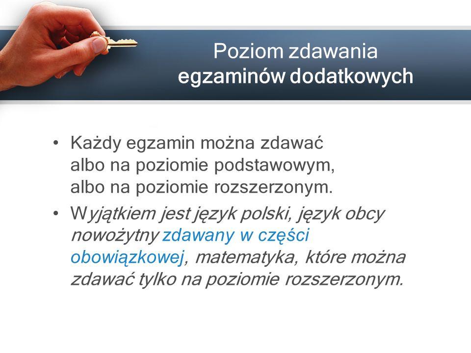 www.cke.edu.pl Terminy egzaminów