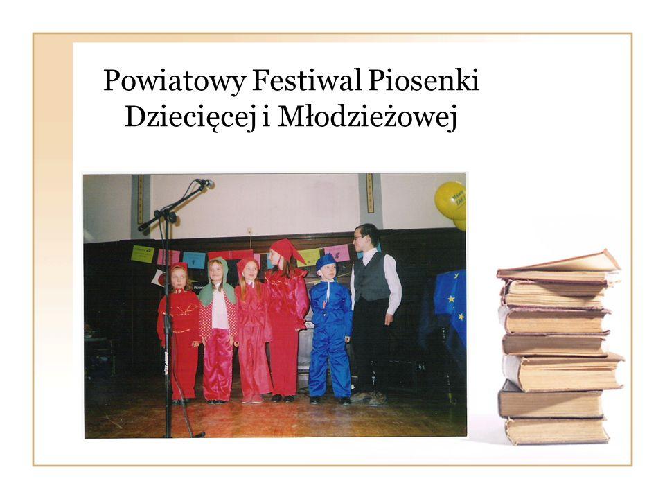 Powiatowy Festiwal Piosenki Dziecięcej i Młodzieżowej