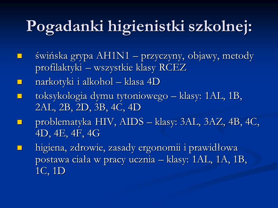 Pogadanki higienistki szkolnej: świńska grypa AH1N1 – przyczyny, objawy, metody profilaktyki – wszystkie klasy RCEZ świńska grypa AH1N1 – przyczyny, o