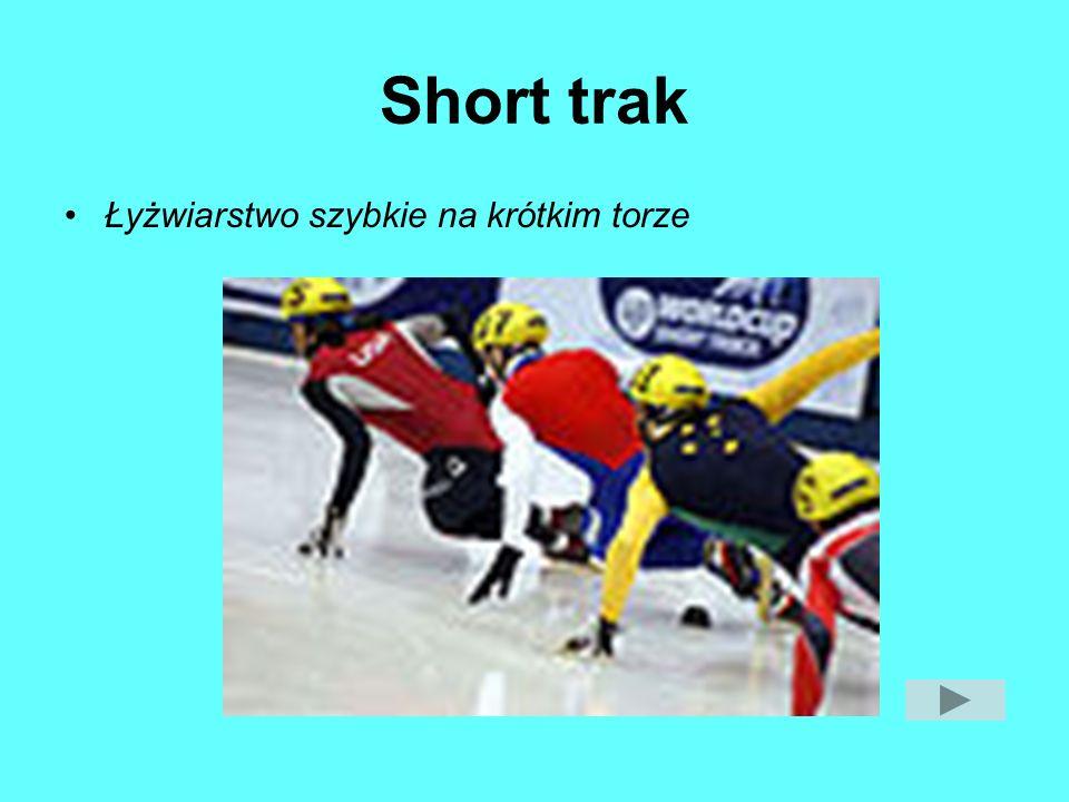 Short trak Łyżwiarstwo szybkie na krótkim torze