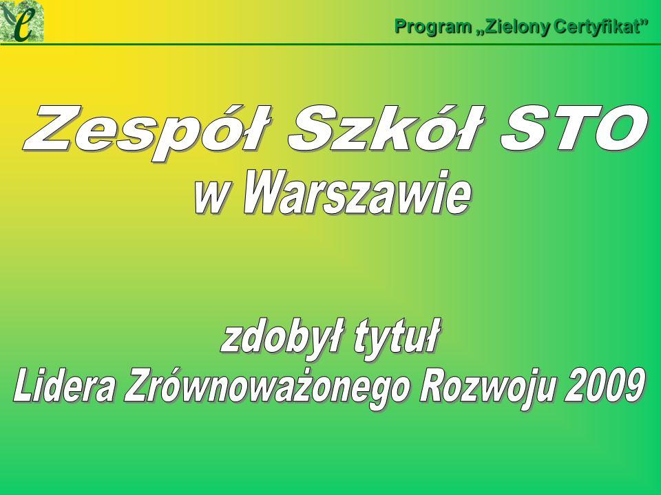 Wybrane działania w ramach realizacji projektu Zaczyna się od kuchni a kończy w ogródku NASZE DZIAŁANIANASZE DZIAŁANIA Zespół Szkół STO w Warszawie