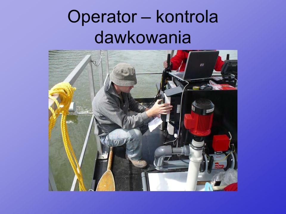 Operator – kontrola dawkowania