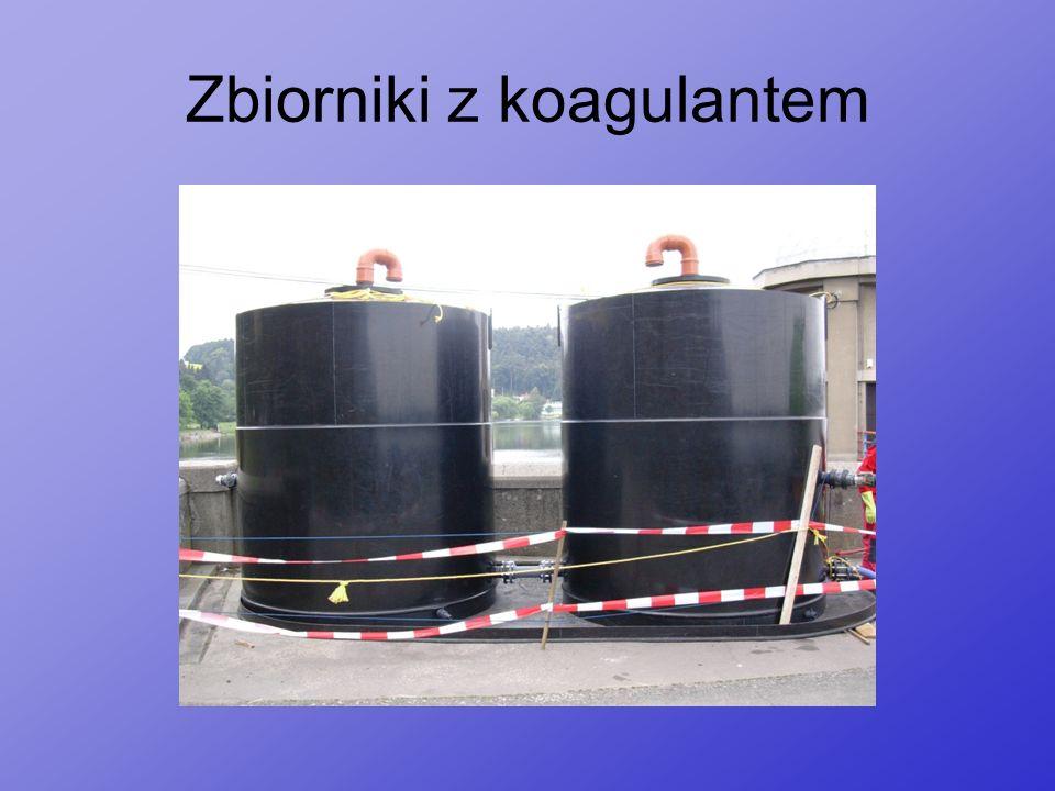 Zbiorniki z koagulantem