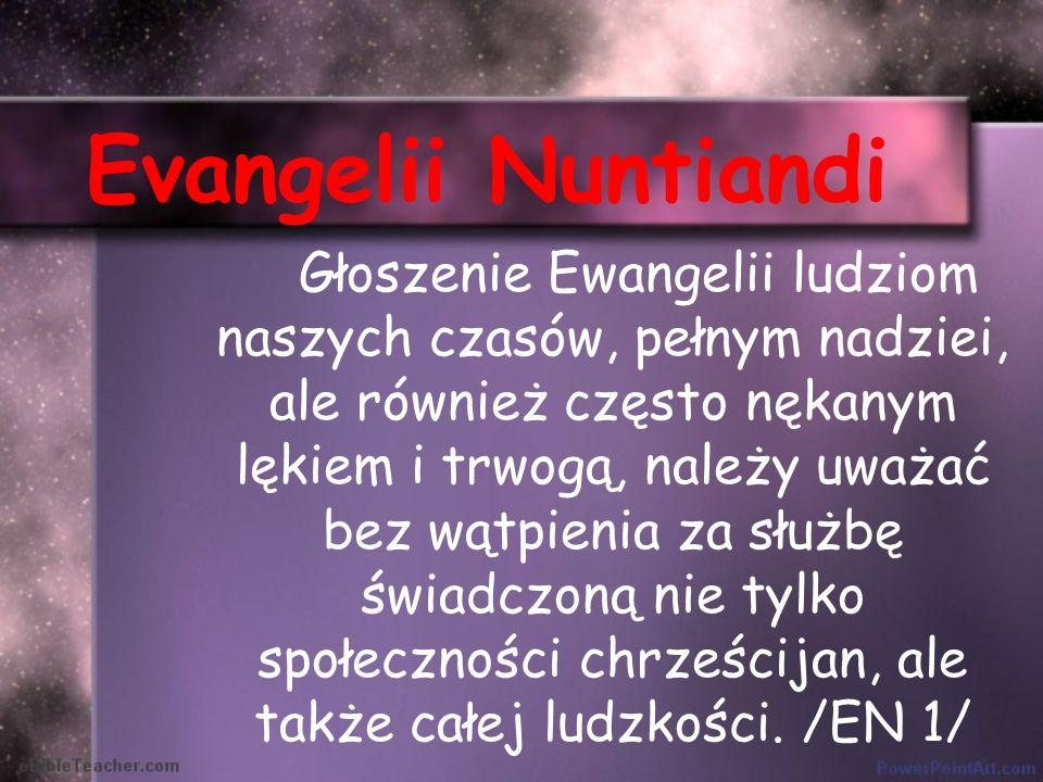 Benedykt XVI Homilia na rozpoczęcie Synodu 7.10.12 Kościół istnieje dla ewangelizowania.