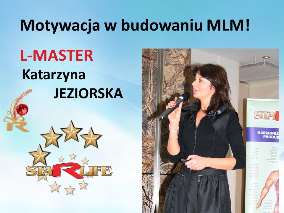 Katarzyna JEZIORSKA L-MASTER Motywacja w budowaniu MLM!
