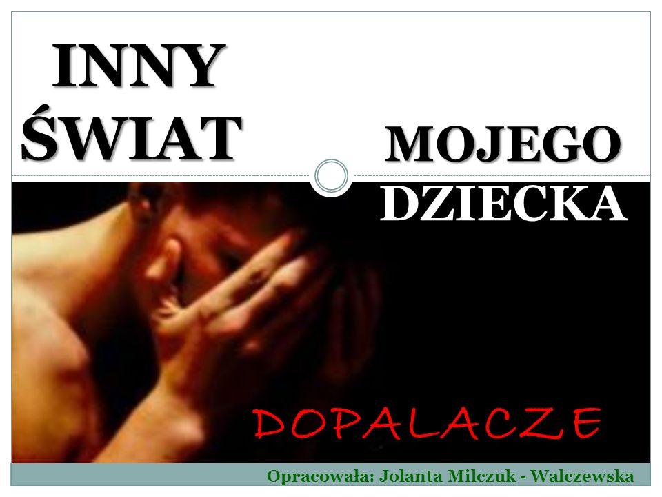 DOPALACZE MOJEGO DZIECKA INNY ŚWIAT INNY ŚWIAT Opracowała: Jolanta Milczuk - Walczewska