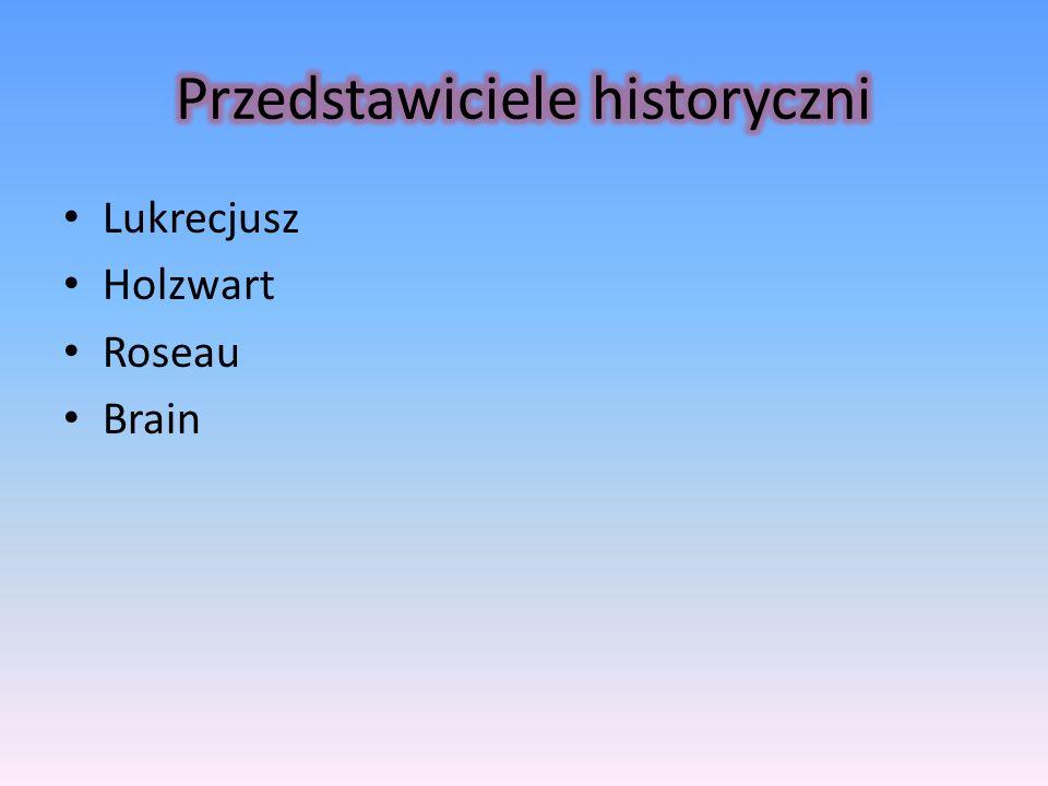 Lukrecjusz Holzwart Roseau Brain