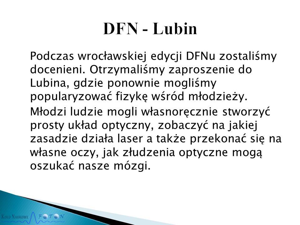 Podczas wrocławskiej edycji DFNu zostaliśmy docenieni.