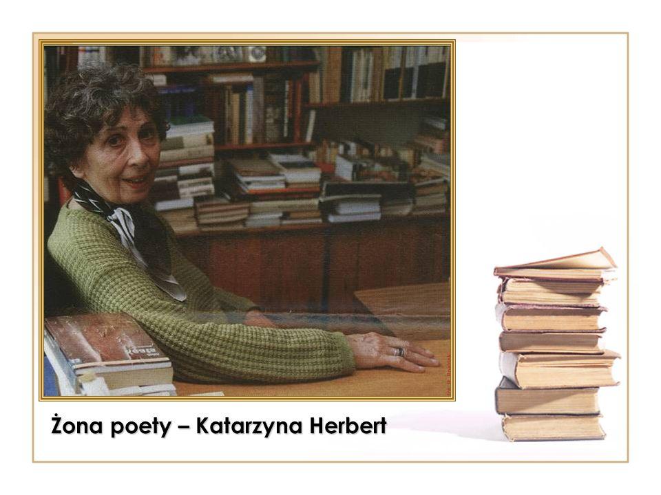 Żona poety – Katarzyna Herbert