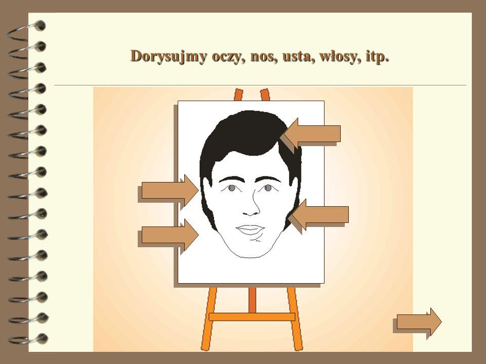 Od twojej wyobraźni zależy, jaką twarz narysujesz.