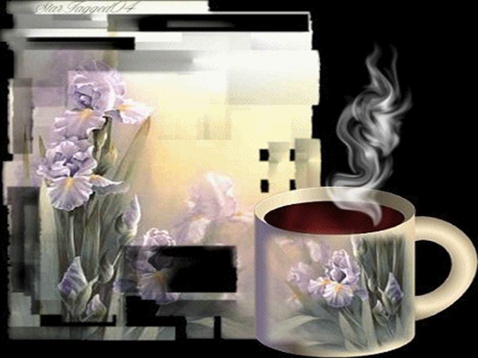 Snuje się cieniem kawy aromat, pobudza zmysły smakiem palonym, zaglądam w oczy, trzymam za dłonie, uśmiechem ciepłym zauroczony.