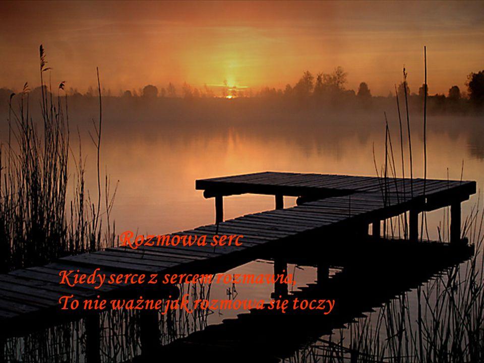 Umilknij więc czasem umilknie wtedy świat I pojmiesz wreszcie ten sens przenośni że czasem cisza przemawia najgłośniej.