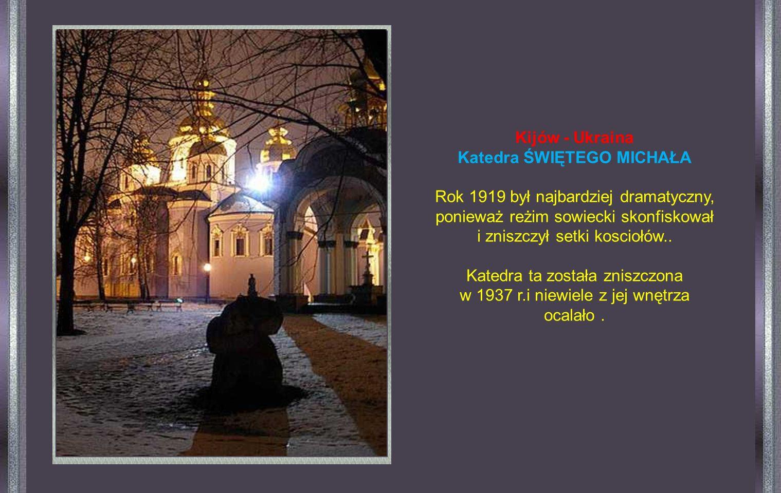 Rekonstrukcję kościoła rozpoczęto w 1994r. Jest on pod każdym względem podobny do tego, który Stalin kazał zniszczyć.