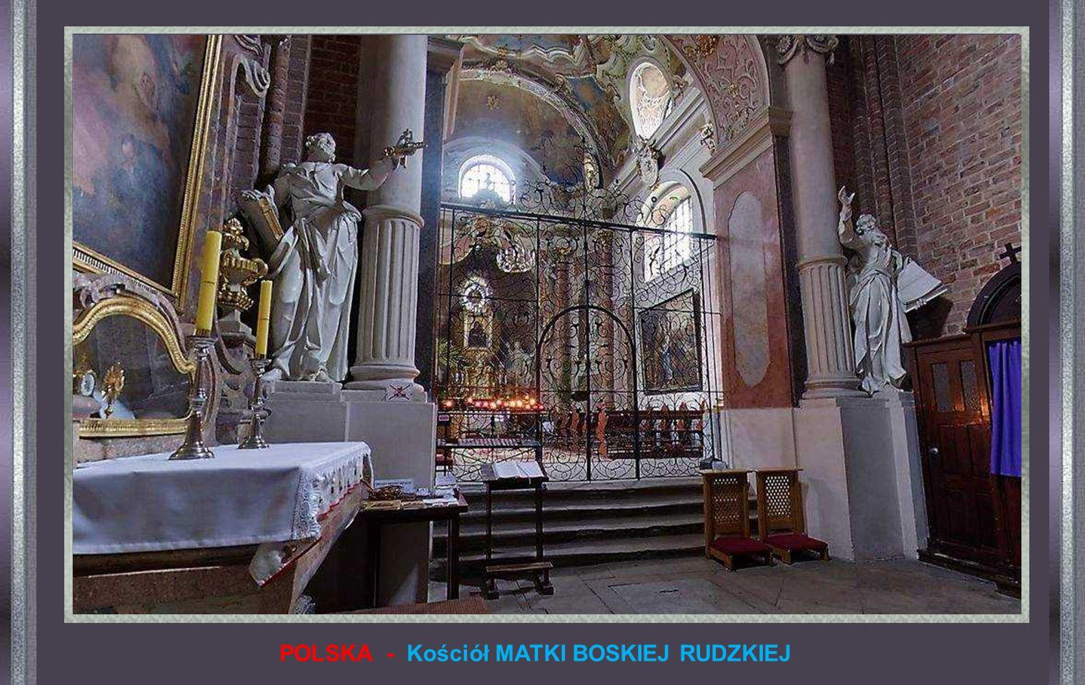 POLSKA - Kościół MATKI BOSKIEJ RUDZKIEJ