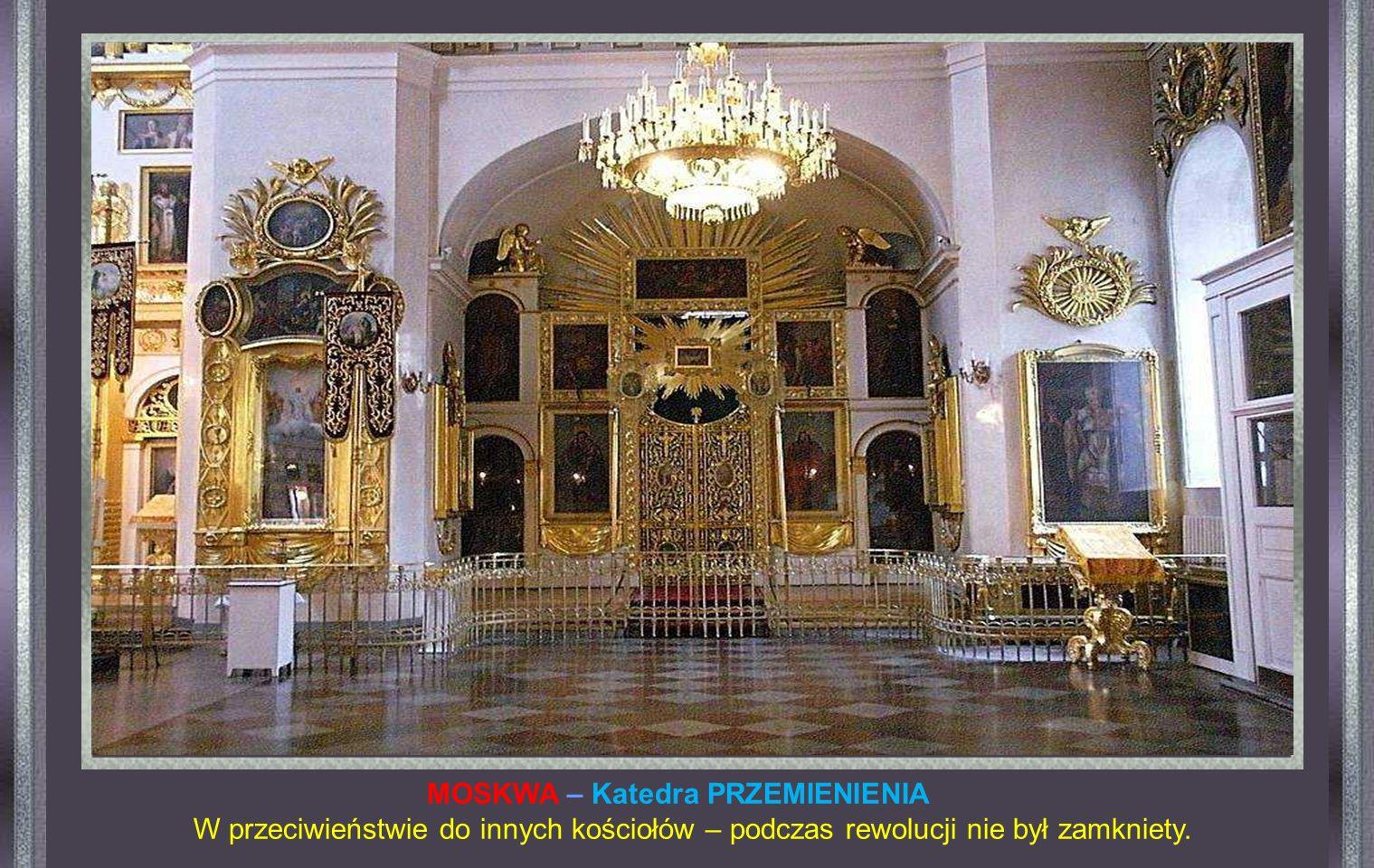 MOSKWA - Katedra św. LUDWIKA