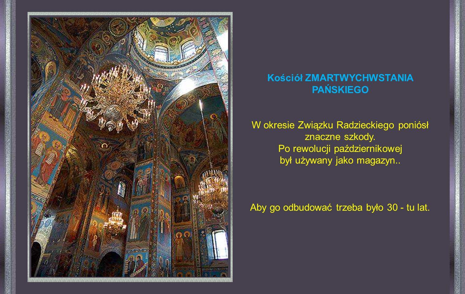 Jest przepiękny wewnątrz i na zewnątrz. Wnętrze jest całkowicie pokryte mozaiką o motywach religijnych.