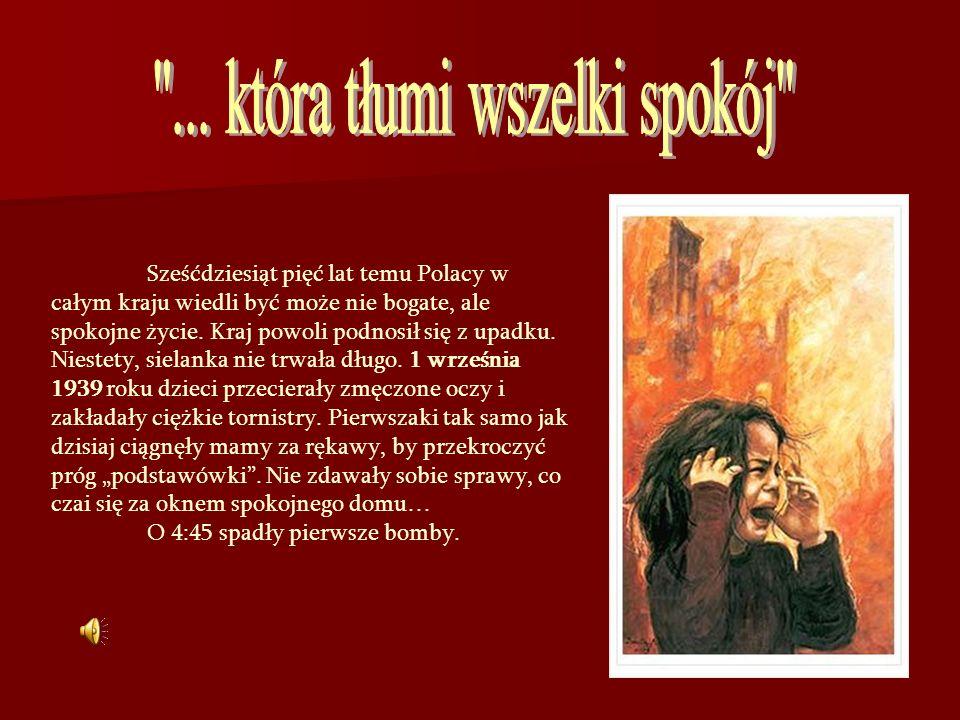 Sześćdziesiąt pięć lat temu Polacy w całym kraju wiedli być może nie bogate, ale spokojne życie. Kraj powoli podnosił się z upadku. Niestety, sielanka