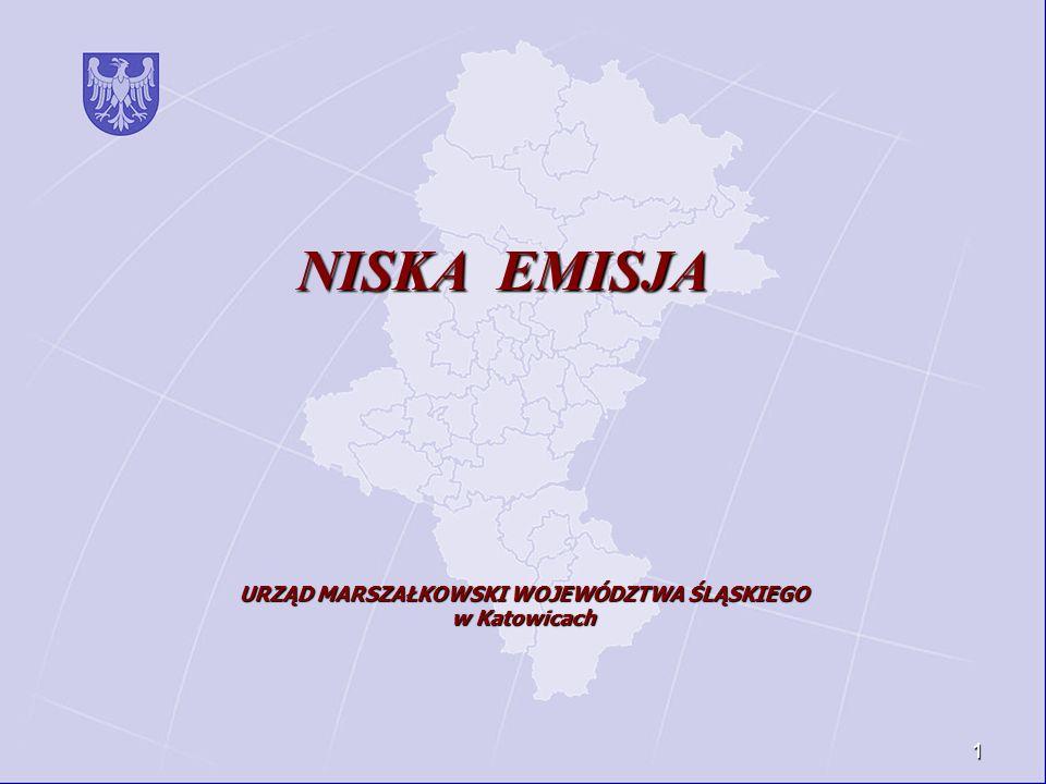 1 NISKA EMISJA URZĄD MARSZAŁKOWSKI WOJEWÓDZTWA ŚLĄSKIEGO w Katowicach