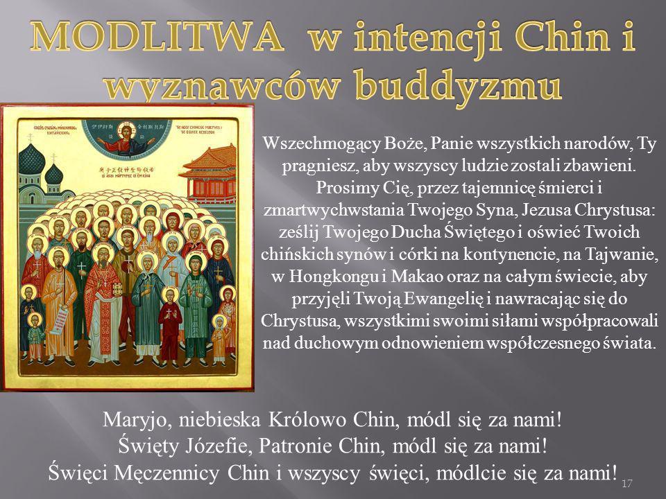 Wszechmogący Boże, Panie wszystkich narodów, Ty pragniesz, aby wszyscy ludzie zostali zbawieni. Prosimy Cię, przez tajemnicę śmierci i zmartwychwstani