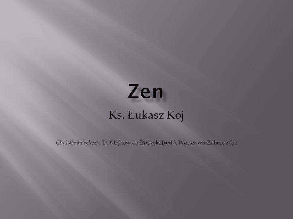 Ks. Łukasz Koj Chińskie katechezy, D. Klejnowski-Różycki (red.), Warszawa-Zabrze 2012