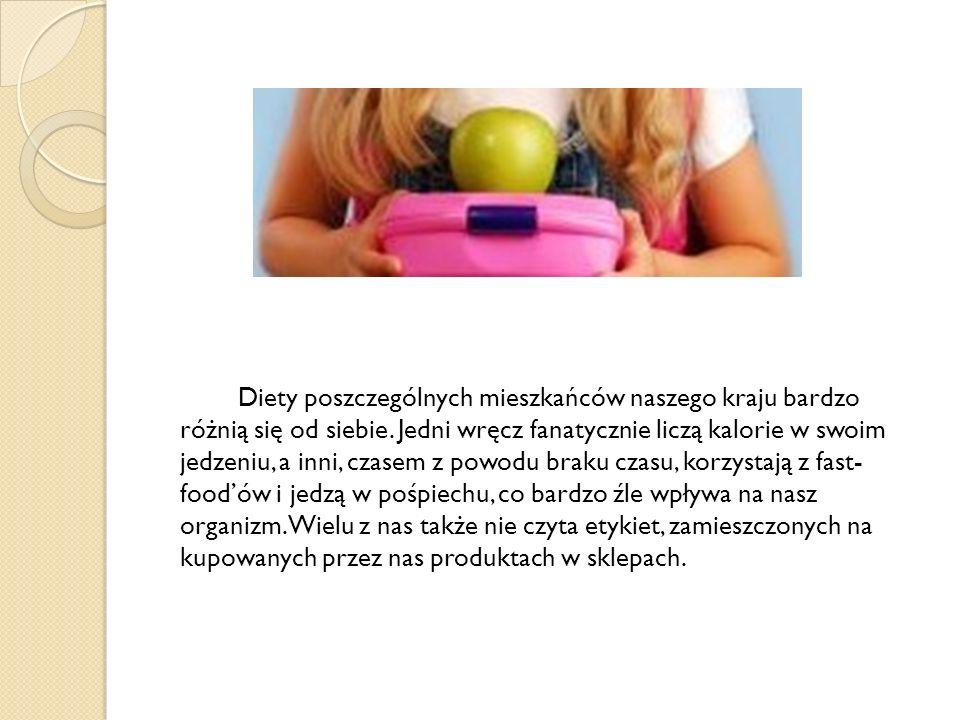 Oto kilka skutków niezrównoważonej diety: choroby układu krążenia (nadciśnienie tętnicze; miażdżyca i jej powikłania np.