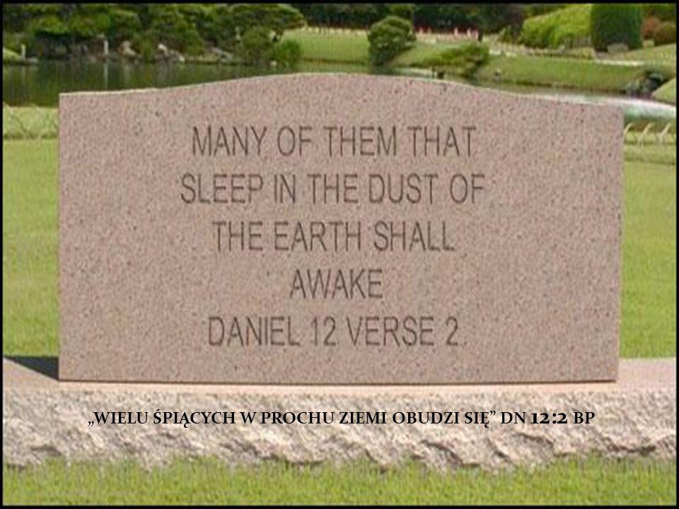 WIELU ŚPIĄCYCH W PROCHU ZIEMI OBUDZI SIĘ DN 12:2 BP
