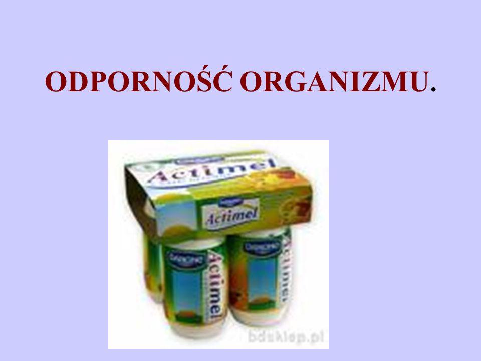 Odporność – to brak podatności organizmu na działanie drobnoustrojów chorobotwórczych lub ich toksyn.