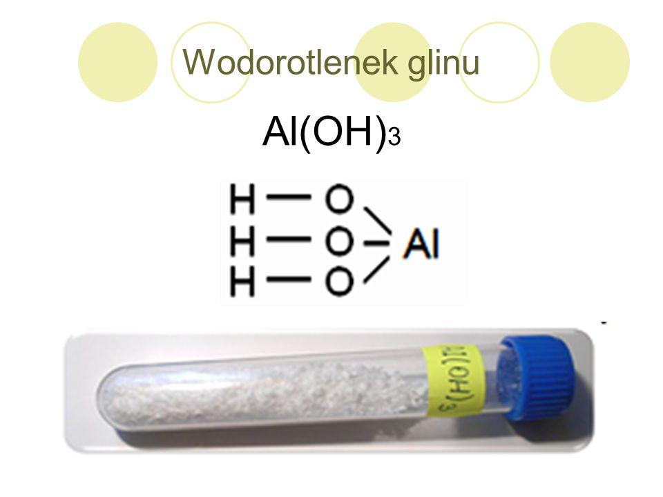 Wodorotlenek glinu Al(OH) 3