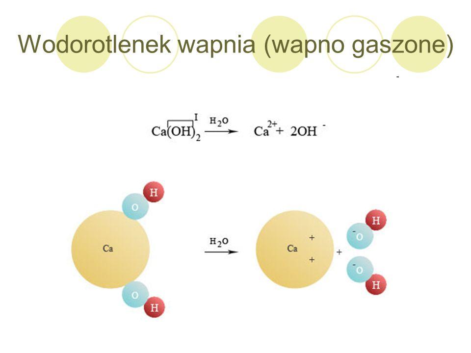 Wodorotlenek wapnia (wapno gaszone)