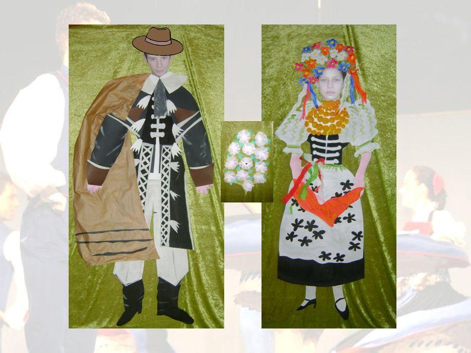 ELEMENTY ŚLĄSKIEGO STROJU WESELNEGO PANNY MŁODEJ W żeńskim stroju ślubnym dużą rolę odgrywała kolorystyka.
