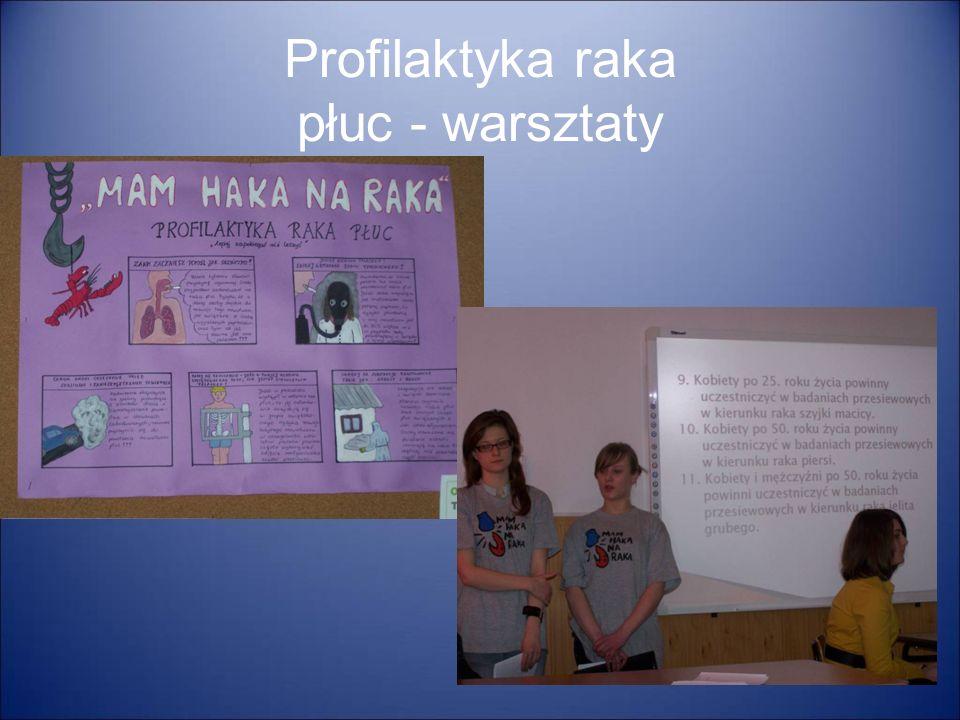 Profilaktyka raka płuc - warsztaty