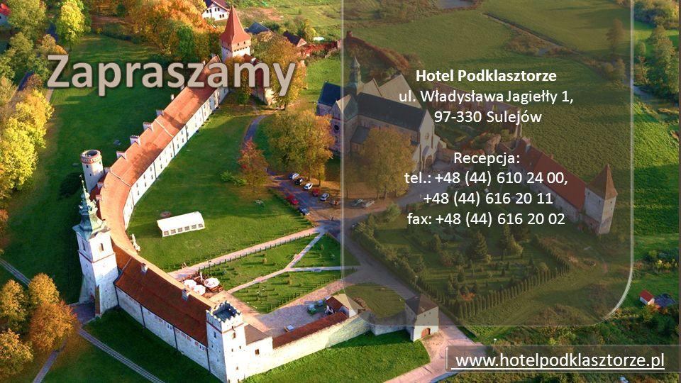 Zwiedzanie Hotelu Podklasztorze i XII -wiecznego opactwa Cystersów.