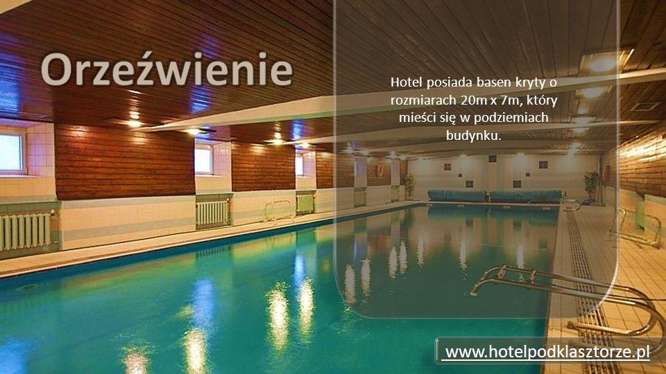 Hotel posiada basen kryty o rozmiarach 20m x 7m, który mieści się w podziemiach budynku.