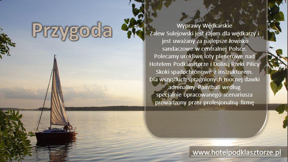 Wyprawy Wędkarskie Zalew Sulejowski jest rajem dla wędkarzy i jest uważany za najlepsze łowisko sandaczowe w centralnej Polsce.