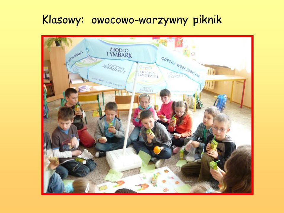 Klasowy: owocowo-warzywny piknik