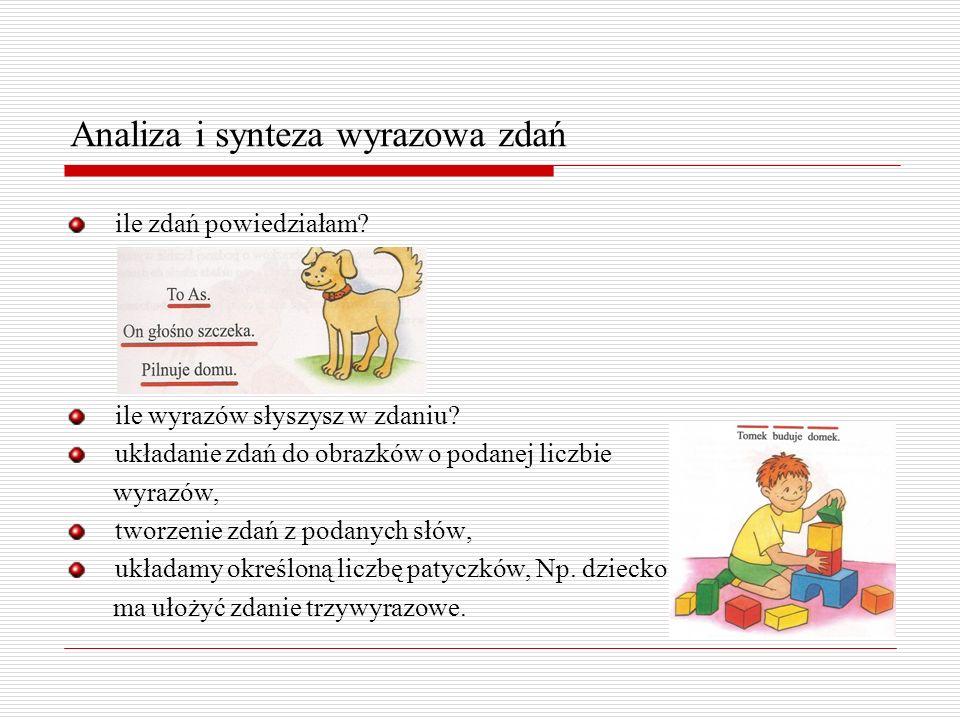 Ćwiczenie analizy i syntezy sylabowej Zabawy z sylabami zabawa jak mama woła dziecko bawiące się na podwórku, Np.