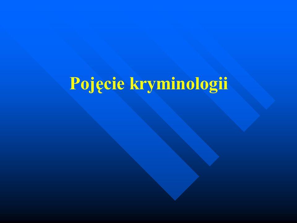 Kryminologia w dosłownym tłumaczeniu to nauka o przestępstwie.