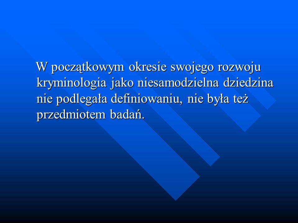 Kryminologia a statystyka – pomiędzy kryminologią a statystyką występują dwa rodzaje związków.