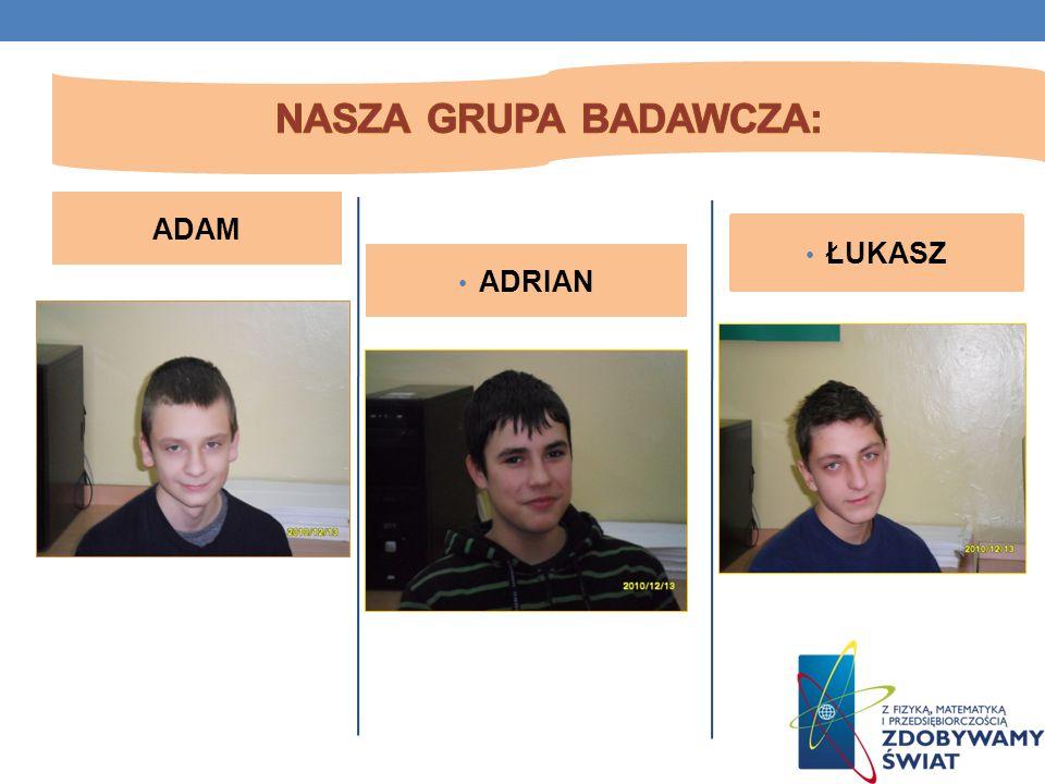 ADAM ADRIAN ŁUKASZ