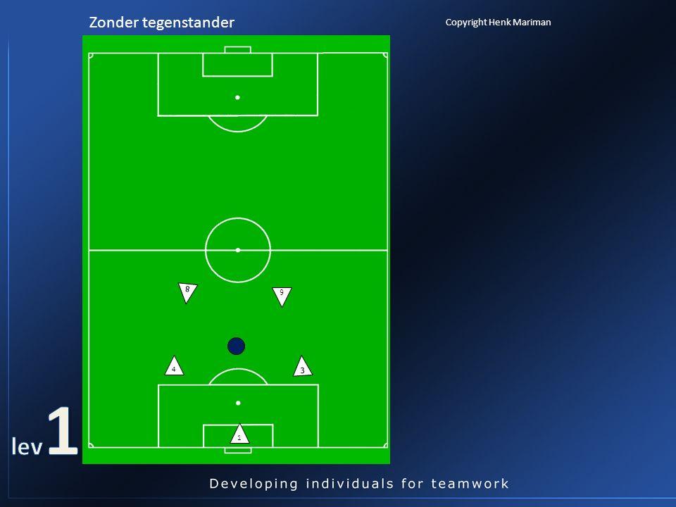 3 4 1 Zonder tegenstander 6 8 Copyright Henk Mariman