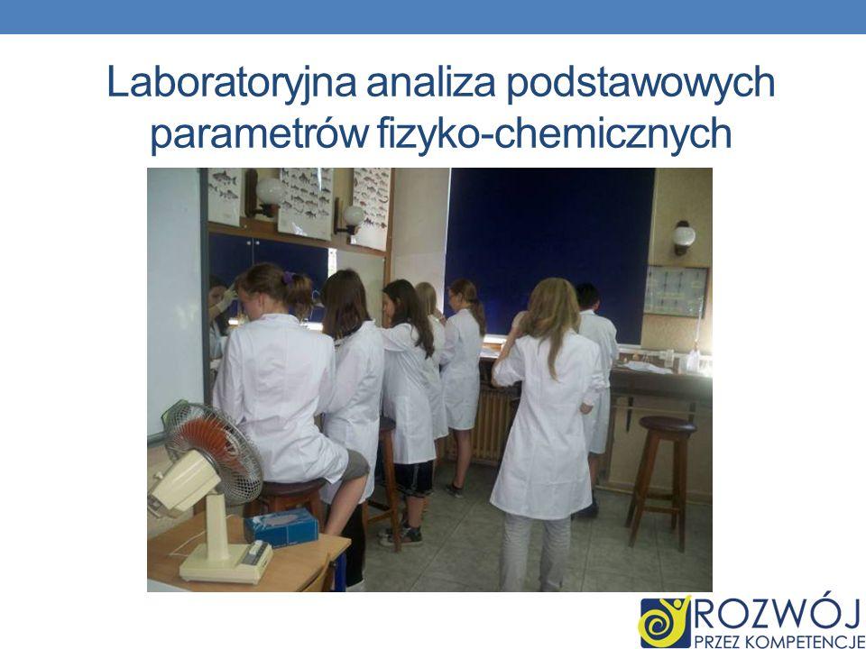 Hydrologia jako NAUKA Laboratoryjna analiza podstawowych parametrów fizyko-chemicznych