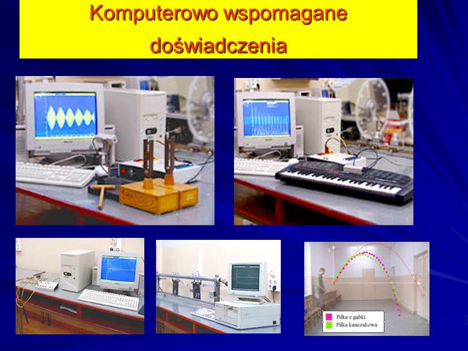 Badanie Drgających obwodów elektrycznych, ładowania i rozładowania kondensatorów i rezonansu w układach RLC. Komputerowo wspomagane doświadczenia