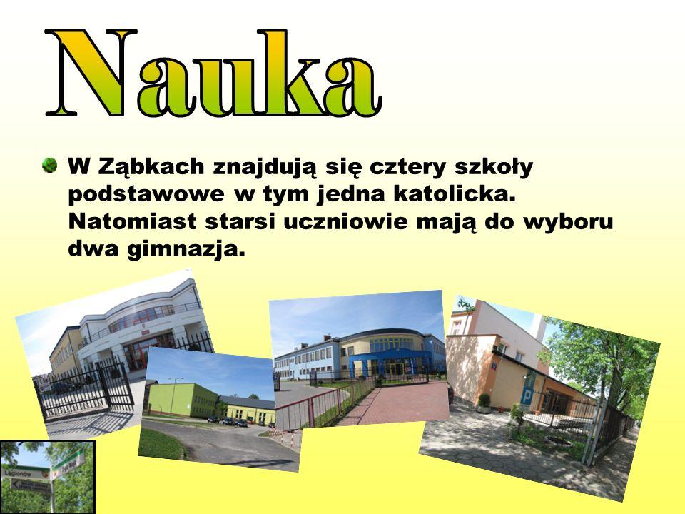 Wiele zabytkowych budynków znajduje się w Ząbkach tj.